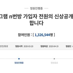 텔레그램 N번방과 신원공개